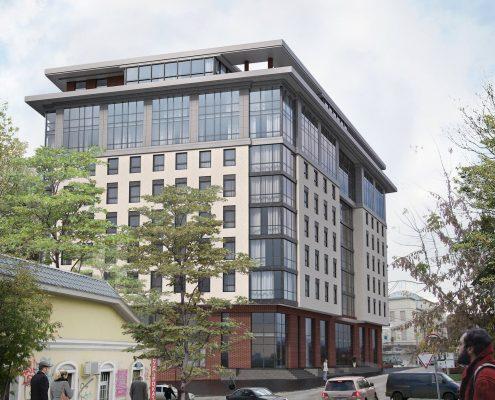 бизнес центр на Бажанова