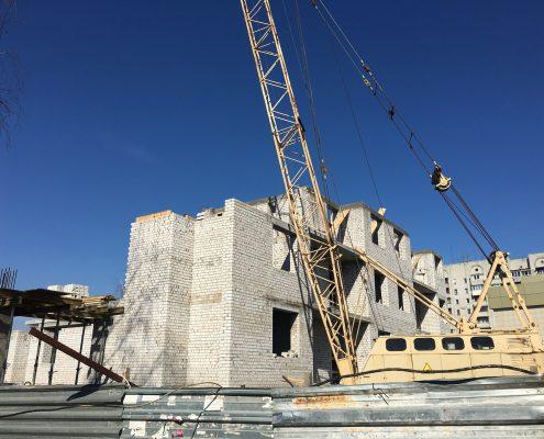 ход строительства берлин хаус клочковская