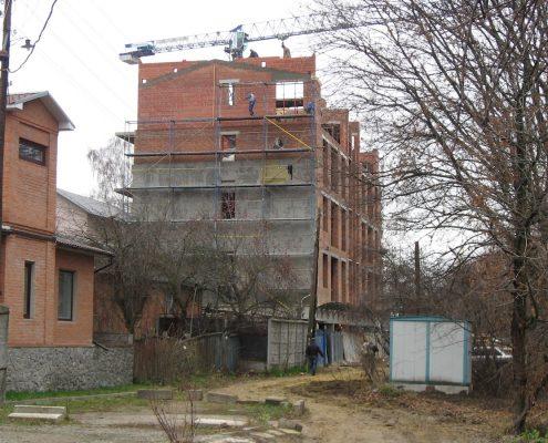 утепление дома улица Саржинская 2