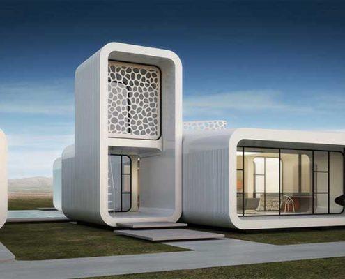 3д офис в Дубаи