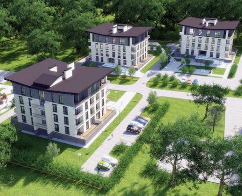 резиденция парк хаус в Харькове